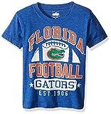 Cotton Willy Children Boy's Short Sleeve Blend Tee, blue, 4T, Florida Gators