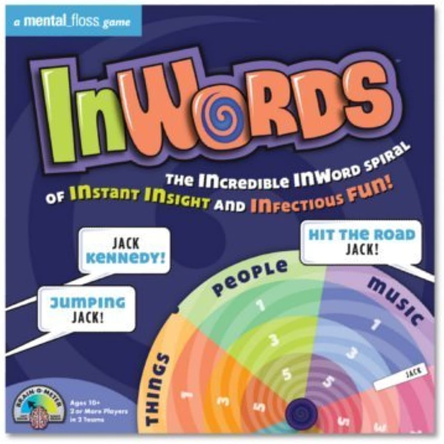 InWords Board Game (122012001) by Barnes & Noble (English Manual)