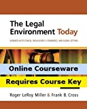 MindTap Business Law & Legal Environment for Miller/Cross  The Legal Environment Today: Business In Its Ethical, Regulatory, E-Commerce, and Global Setting, 7th Edition