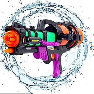 Pistolas de Agua,Pistola de Agua Grande,Pistola Agua de Largo Alcance,Super Pistola de Agua para niños Adultos,Pistolas de Agua con Alcance Largo,Pistola de Agua Alcance Largo (B)