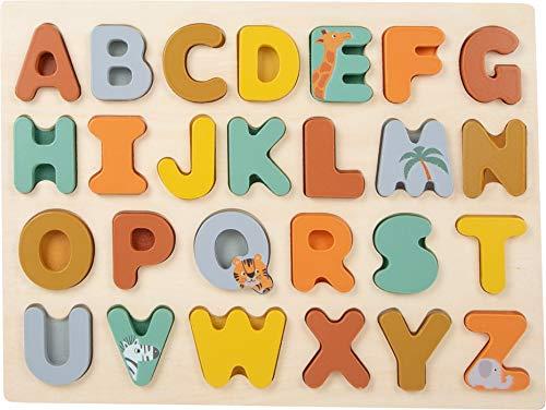 Small  11703 ABC Safari  , de Madera, a Partir de los 2 años de Edad. Puzzles (11703)