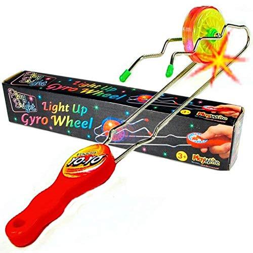 Party Bags 2 Go - Yo-yo luminoso Gyro su twister a rotaia