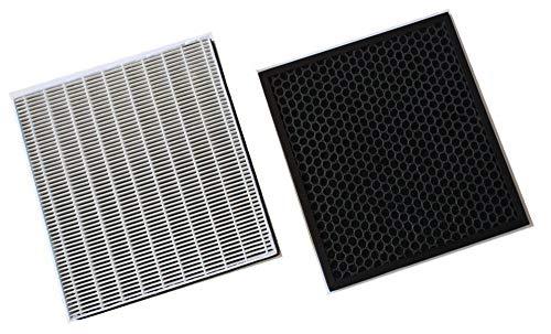 TOMIROAD 空気清浄機能付除湿機 集塵フィルター DCE-120HF と 活性炭脱臭フィルター DCE-120TF 1セット 28032