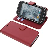 foto-kontor Cover for CAT S40 book-style red case