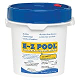 E-Z Pool Weekly All in 1 Concentrated Outdoor Swimming Pool Care Solution Blend with Copper Sulfate and Oxygen Enriching Formula, 10 Pound Bucket