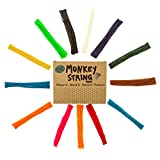 Impresa Products 500 Piece Pack of Monkey String (Jumbo Pack) - Wiki / Wikki Bendable, Sticky Wax Yarn Stix /...