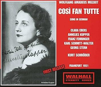 Mozart: Così fan tutte (Thus Do They All), K. 588 [Sung in German]