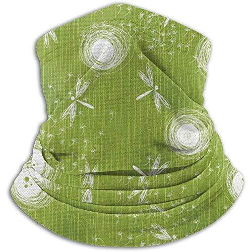 Preisvergleich Produktbild Bklzzjc Dragonfly Spring Beauty Nature Blossom Nackenwärmer - Nackenschutz Tube,  Ohrwärmer Stirnband & Gesichtsmaske.