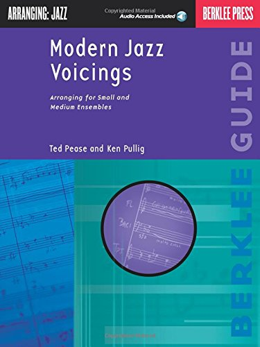Modern Jazz Voicings: Arranging for Small and Medium Ensembles