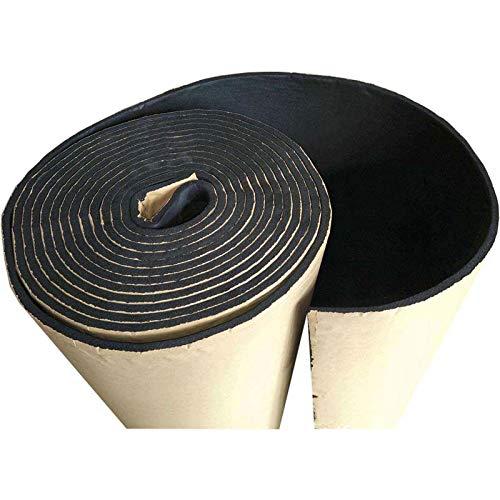 Auto-Gummi-Isolierschaum, Konesky-Auto-Schallschutz-Schaum-Brett-Brandmauer-Schaum für Rohrleitungstank-Ausrüstungsauto usw. 30 x 50cm