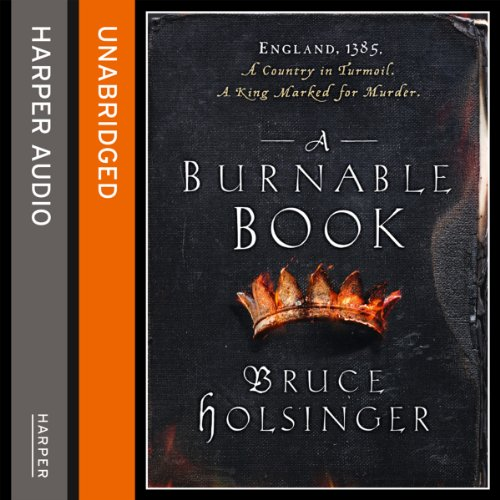 A Burnable Book audiobook cover art