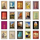 20 Posters! - Vintage Travel Poster Set (Set A und Set B)