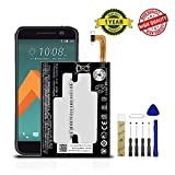 for T-Mobile HTC 10 2PS6500 Replacement Battery B2PS6100 Free Adhesive Toolkit