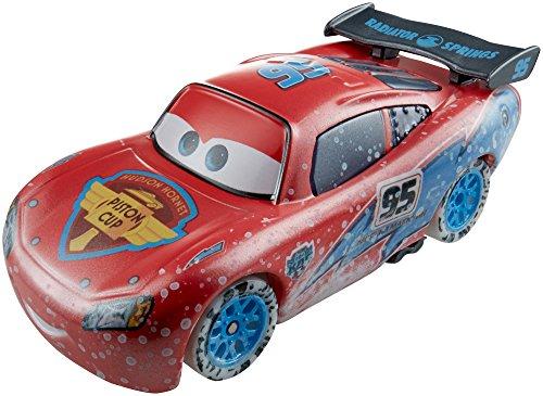 Mattel Disney Pixar Cars CDR26 ICE RACERS Die Cast Auto 1:55 Flash / Rayo /Lightning McQueen CDR26