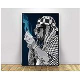 ASLKUYT Lil Wayne Pop Art Hiphop Rapper Musik Sänger