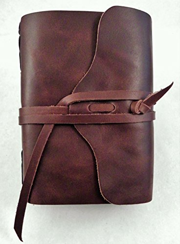 No.96 Rustic Handmade 4x6 Leather Photo Album