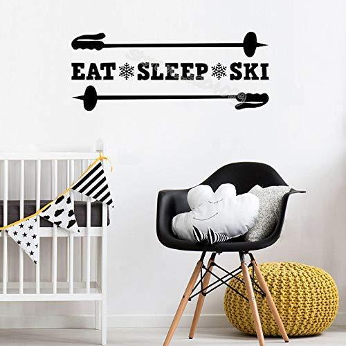 Tfgyhjk -  Eat Sleep Ski Zitate