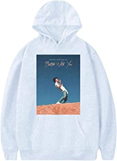 Jacob_Sartorius Best with You Fashion Adult Cotton Material Hoodie Sweat Shirt for Women