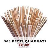 Bastoncini per zucchero filato da 30 cm | 500 pezzi