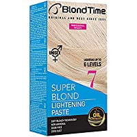 Blond Time Pasta Decolorante aclara hasta 6 tonos Sin Amoniaco Sin Polvo Sin Olor 120 ml