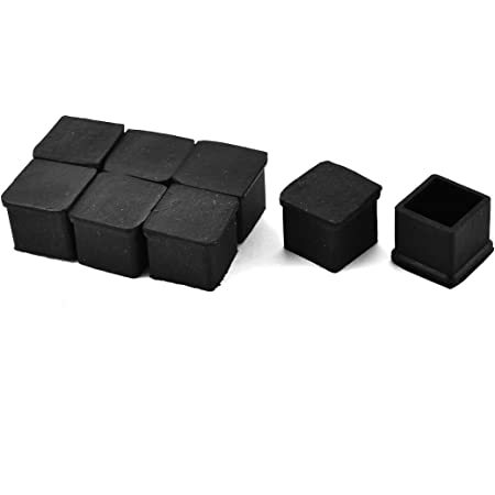 100 x foot protection for ø 25-26 mm black cap rohr stuhlkappe chair new