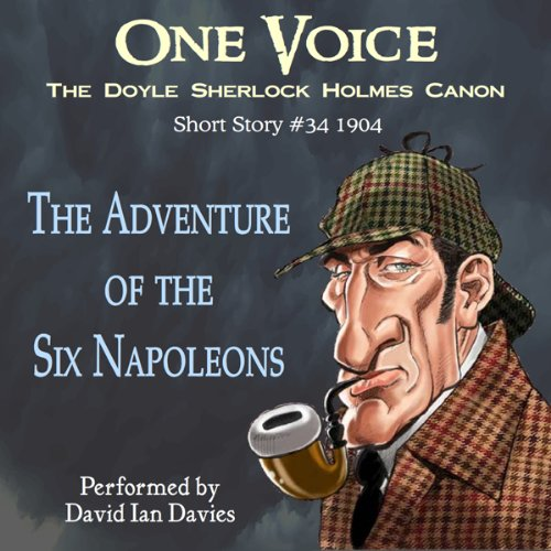 The Adventure of the Six Napoleons audiobook cover art