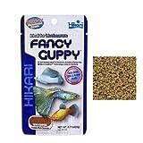 Hikari Fancy Guppy - Mangime completo a lento affondamento in pellet, ideale per guppy e pesci tropicali piccoli