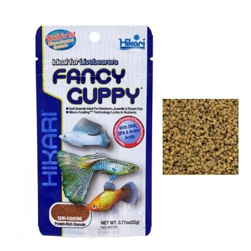 Hikari Fancy guppy-aliment complet lent naufrage en granulés idéal pour guppy et petits poissons tropicaux