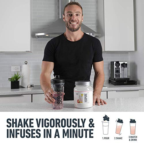 ISOPURE INFUSIONS, Refreshingly Light Fruit Flavored Whey Protein Isolate Powder,