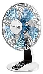 Rowenta VU2630 Ventilateur de table Turbo Silence Extreme, ventilateur, 4 niveaux de vitesse, 3 W, argent, noir, gris et blanc
