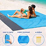 "Best Beach Chairs For Kids - 1byhome Beach Blanket 73""x83"" (6'x7') Outdoor Picnic Blanket Review"