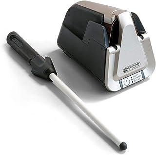 أعمل شارب مطبخ E5 مسن سكاكين مع قضيب شحذ من السيراميك
