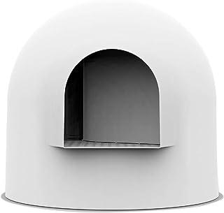 pidan 猫用トイレ 本体 猫トイレ 大型 消臭・抗菌 かまくら型 美しいデザイン 球形構造 さまざまな家庭のスタイルに適応 (ホワイト)