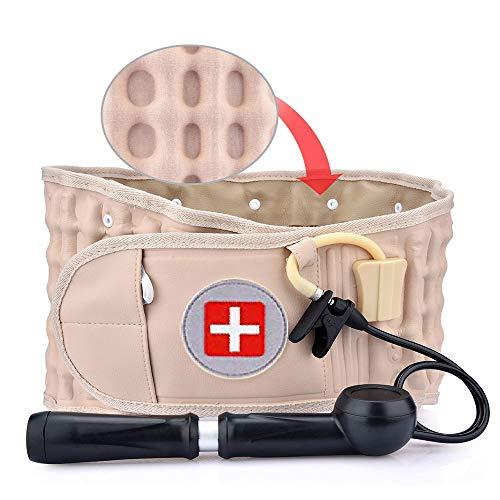 Dekompressionsgürtel, Spinal Air Traction Belt Zur Linderung Von Rückenschmerzen Rückenstütze & Lendenwirbelgurt Einheitsgröße Für Taille 26-43