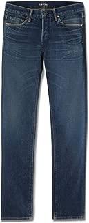 Mens Stretch Vintage Selvedge Denim Slim Jeans