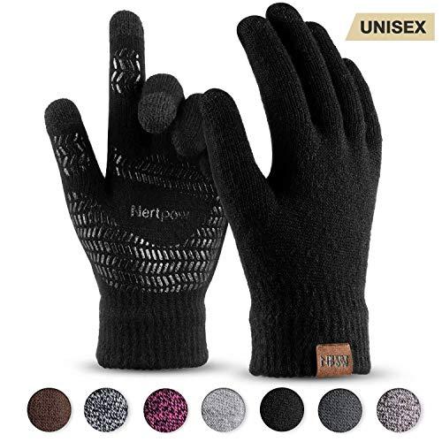 Winter Gloves RESULT New Gestrickte Handschuhe Fleece Innenseite