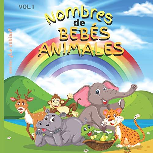 Nombres des bebés Animales: Libro Infantil: 21,59 cm x 21,59 cm x 44 páginas, todas con Fotos de los ANIMALITOS con una página de Dedicatoria para sus Regalos!
