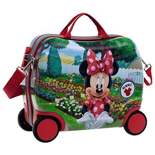 Disney Minnie Garden Bagage Cabine, 41 cm, 27.88 L, Rouge