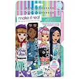Make It Real – Fashion Design Sketchbook: City Style - Inspirational Fashion Design Coloring Book for Girls...