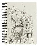 Mr. Ellie Pooh Elephant Dung Paper Elephant Family Sketch Handmade Journal Notebook Sketchbook
