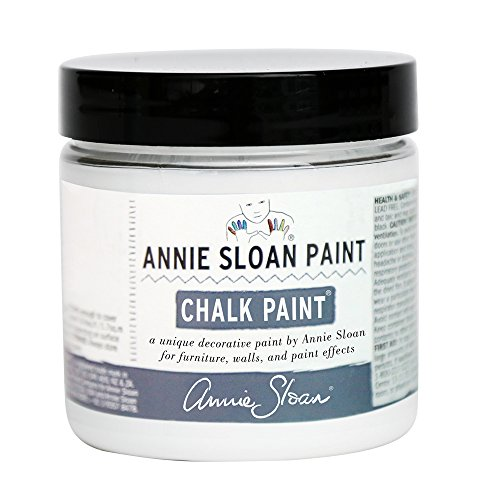 Chalk Paint (R) by Annie Sloan – Decorative Paint for Furniture, cabinets, Floors, Home Decor, and Accessories – Water-Based – Non-Toxic – Matte Finish (Project Pot - 4oz, Pure White)