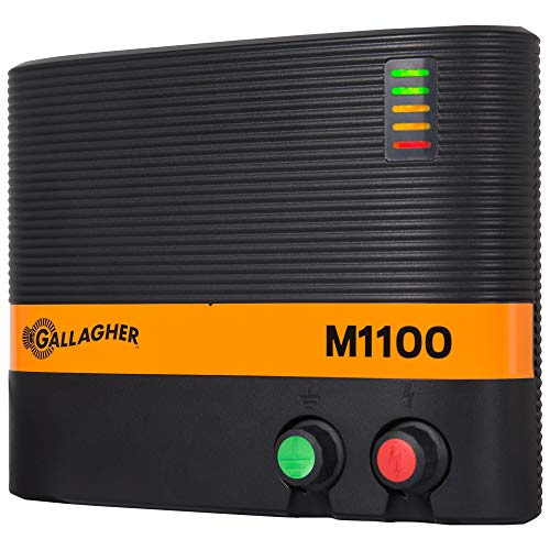 Gallagher M1100 Electric Fence Charger   Powers Up...