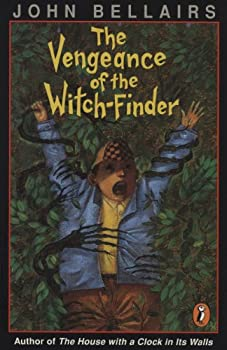 The Vengeance of the Witch-Finder by John Bellairs & Brad Strickland science fiction and fantasy book and audiobook reviews