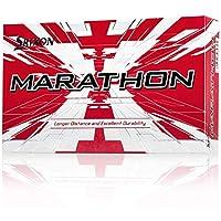 (White) - Srixon Marathon 2 White Golf Balls 1- 4 15-Ball Pack