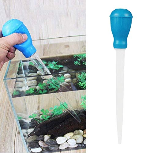 Ogquaton 1 Stück Pipette Tropfenzähler Aquarium Reiniger Korallen Feeder Abfallsammler Wechsler Kies