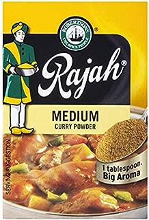 Rajah Medium Curry Powder, 3.53oz, 100g (1 Pack)