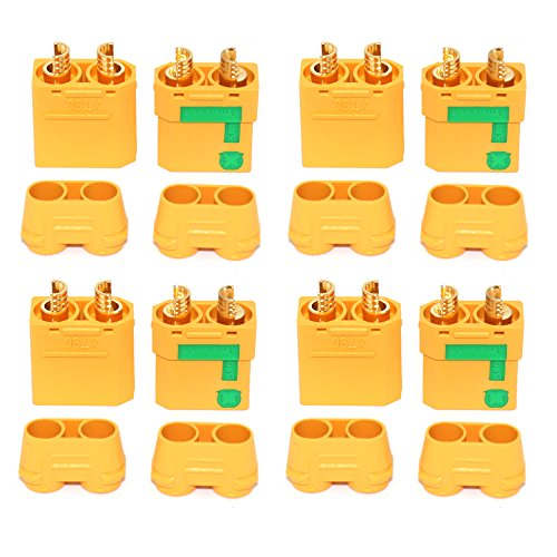 Lead Tech Anti-Funken XT90S XT90-S XT90 Stecker Adapter für Akku Batterie