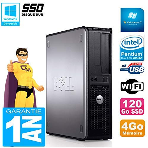 Dell PC Optiplex 780 DT Intel E5300 4 GB RAM 120 GB SSD grabadora ...