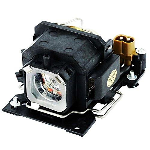 EU-ELE DT00781 - Módulo de lámpara de repuesto compatible con carcasa para proyector HITACHI CP-RX70/X1/X2WF/X4/X253/X254, ED-X20EF/X22EF,MP-J1EF