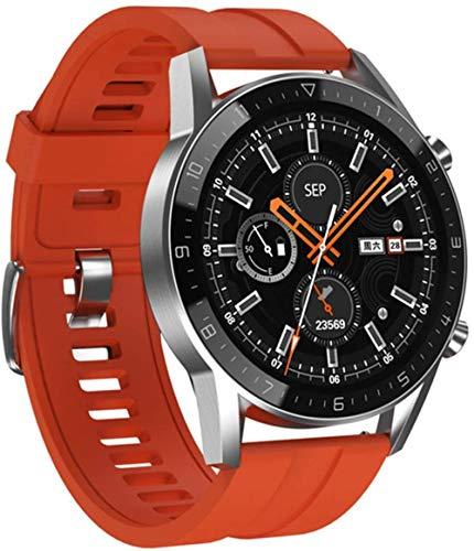 DT92 reloj inteligente hombres s Bluetooth llamadas IP68 impermeable frecuencia cardíaca presión arterial larga espera deportes mujeres smartwatch-c